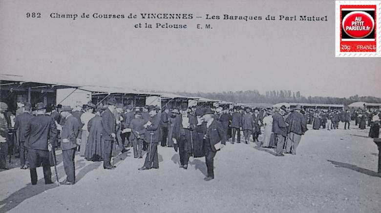 Vincennes le champ de courses